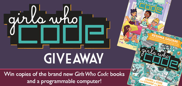 Girls Who Code Book and Computer Giveawayl