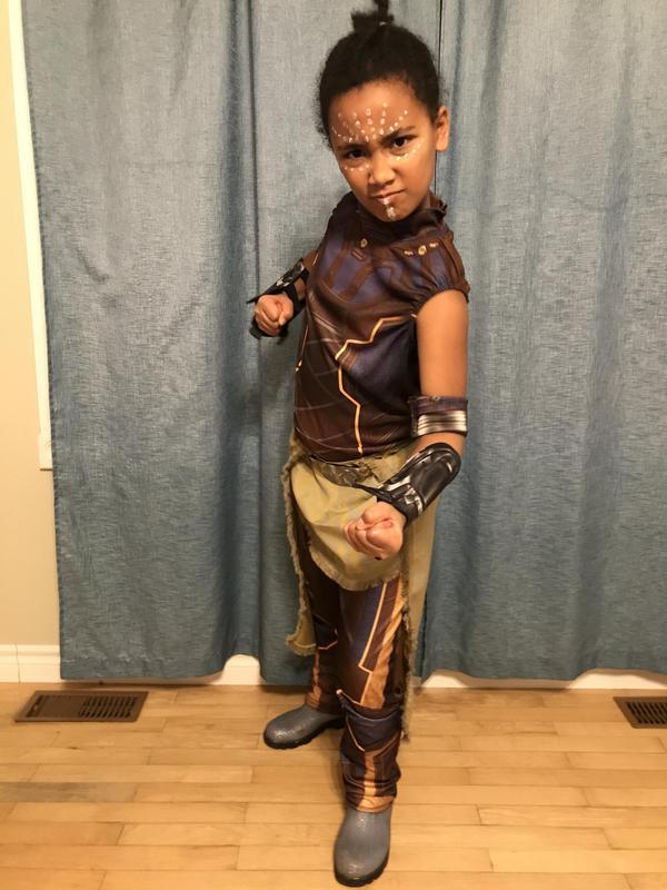 Alem as Shuri from Black Panther