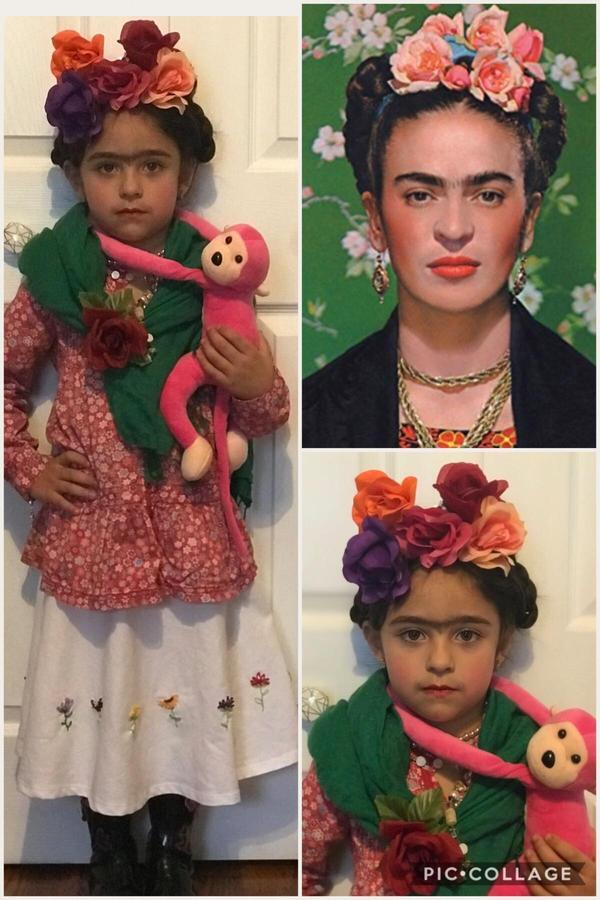 Frida Kahlo by Louisa