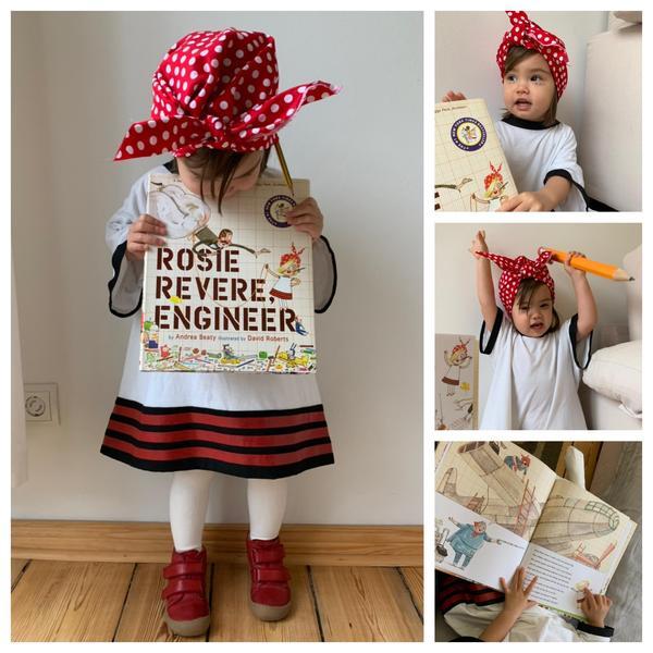 Amelia as Rosie Revere, Engineer