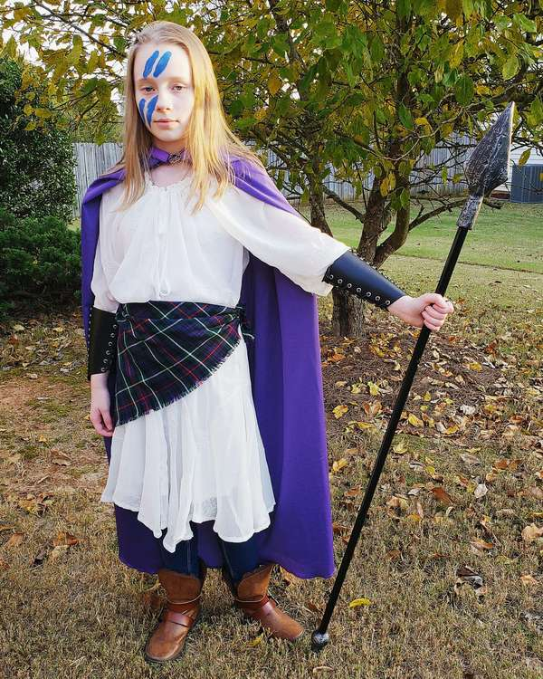 Lily as Boudicca