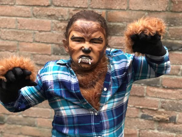 A Mighty Werewolf