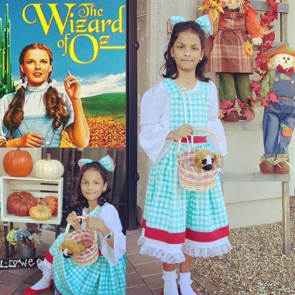 Mighty girl Halloween costume