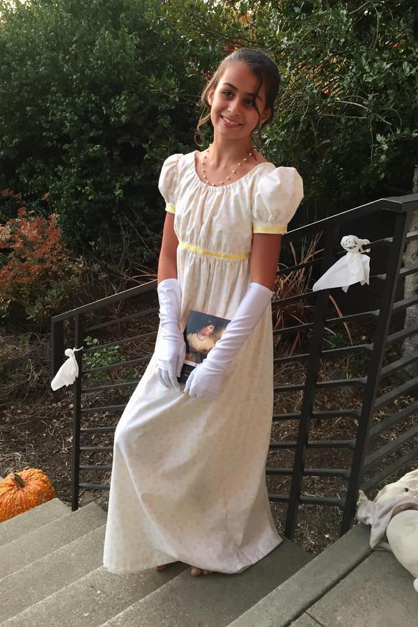 Laurel as Jane Austen
