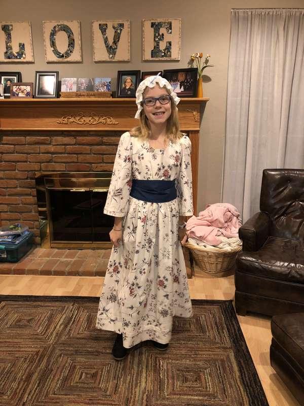 Young Angelica Schuyler (Hamilton)