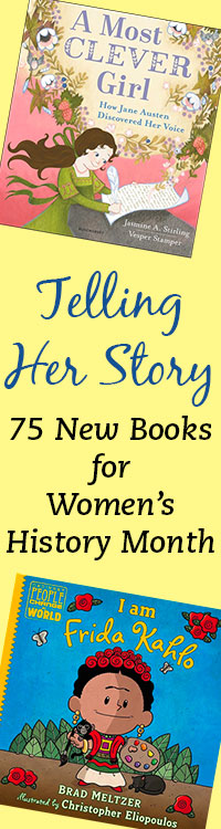 50 New Releases for Women's History Monthg