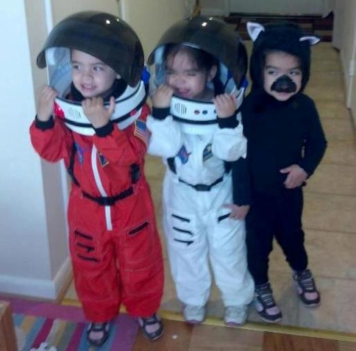Astronauts and Black Cat  sc 1 st  A Mighty Girl & A Mighty Girl Halloween: 50 Mighty Girls in Costume | A Mighty Girl
