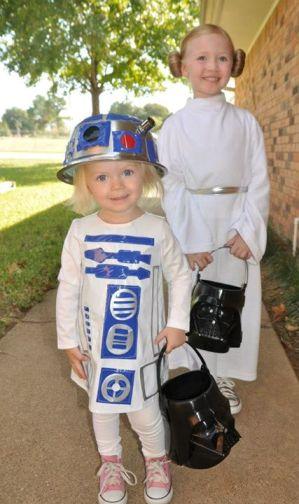 R2D2 and Princess Leia  sc 1 st  A Mighty Girl & A Mighty Girl Halloween: 50 Mighty Girls in Costume   A Mighty Girl
