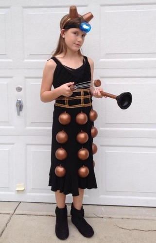 Chloe 10 chose to be a Dalek from Doctor Who and helped make the costume from thrift store and craft shop items.  sc 1 st  A Mighty Girl & A Mighty Girlu0027s 2013 Halloween Highlights | A Mighty Girl