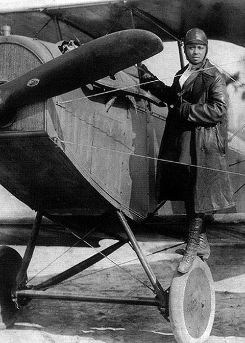 Bessie Coleman (1892 - 1926)