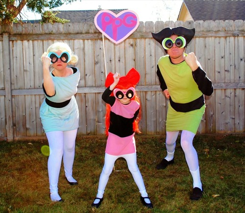 Miss H (age 5) loves the Powerpuff Girls because they are her age and are strong and mighty. Her favorite is Blossom because she is the leader of the group ... & A Mighty Girlu0027s 2014 Halloween Highlights | A Mighty Girl