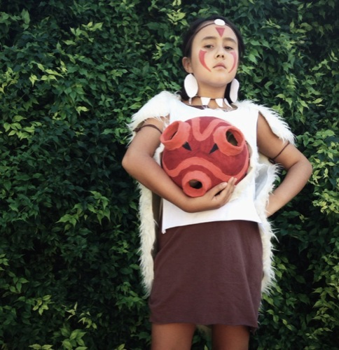 a mighty girl s 2018 halloween highlights you re all done your princess mononoke costume