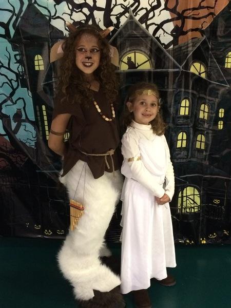 Satyr and Greek Goddess