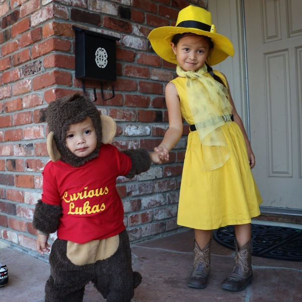 The Girl in the Yellow Hat & Curious Lukas