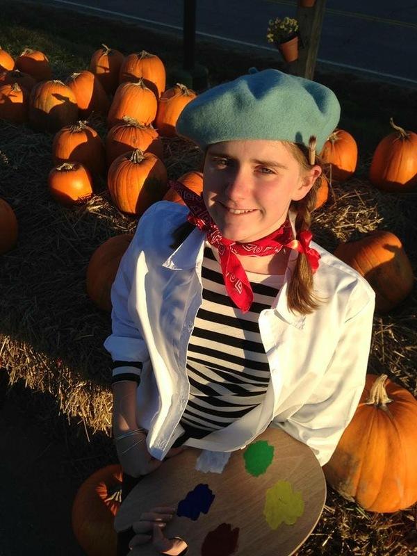 A Mighty Artist - Halloween 2015