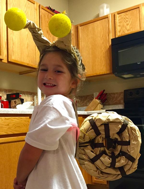 Amelia- Happy Little Snail