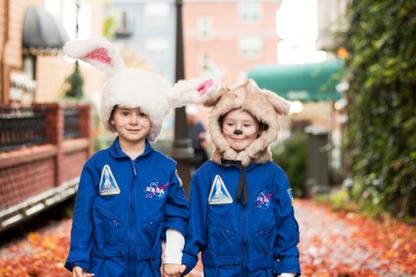 Astronaut Bunny & Astronaut Deer