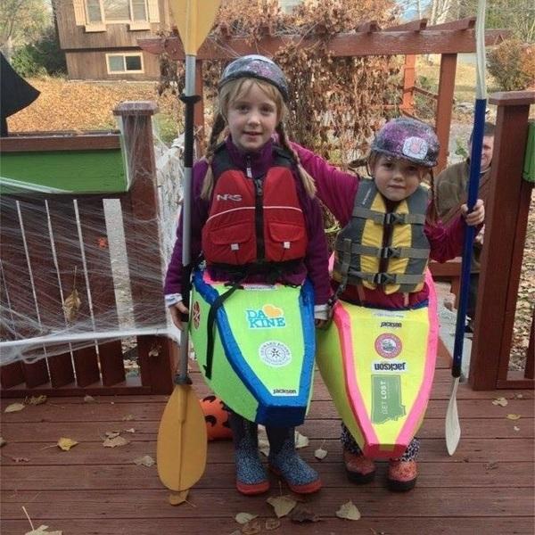 Kayaker Girls