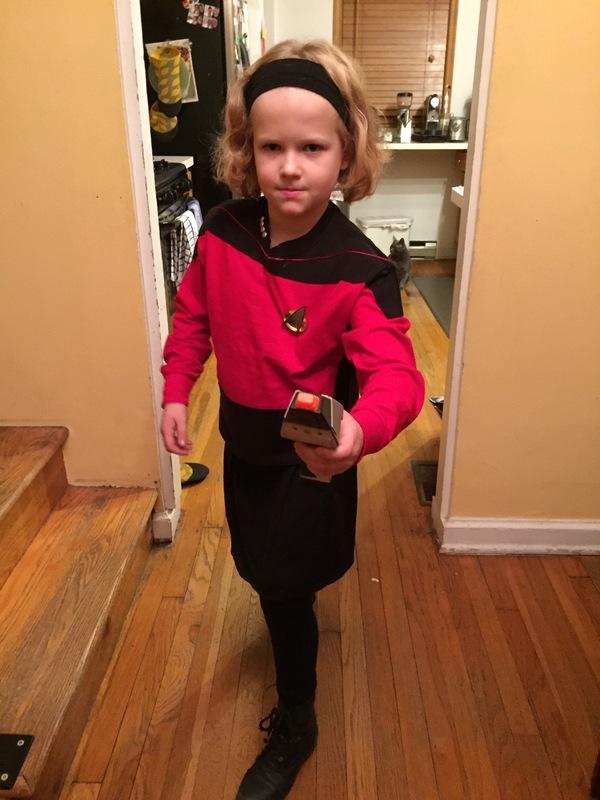 Starfleet Captain, of the USS Kindle