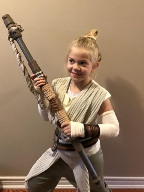 Sophie as Rey