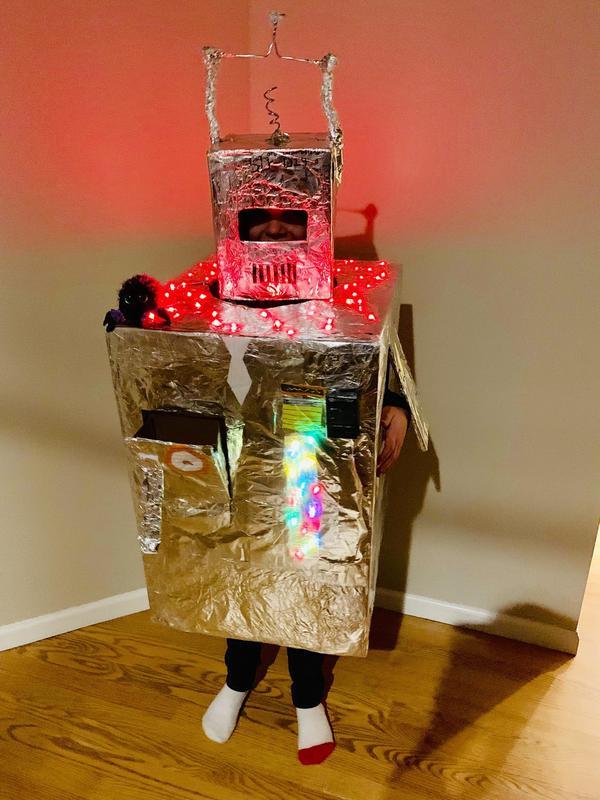 Third year as a robot
