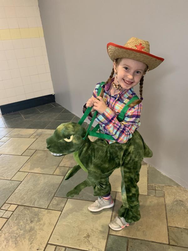 Raegan the Dino Cowgirl