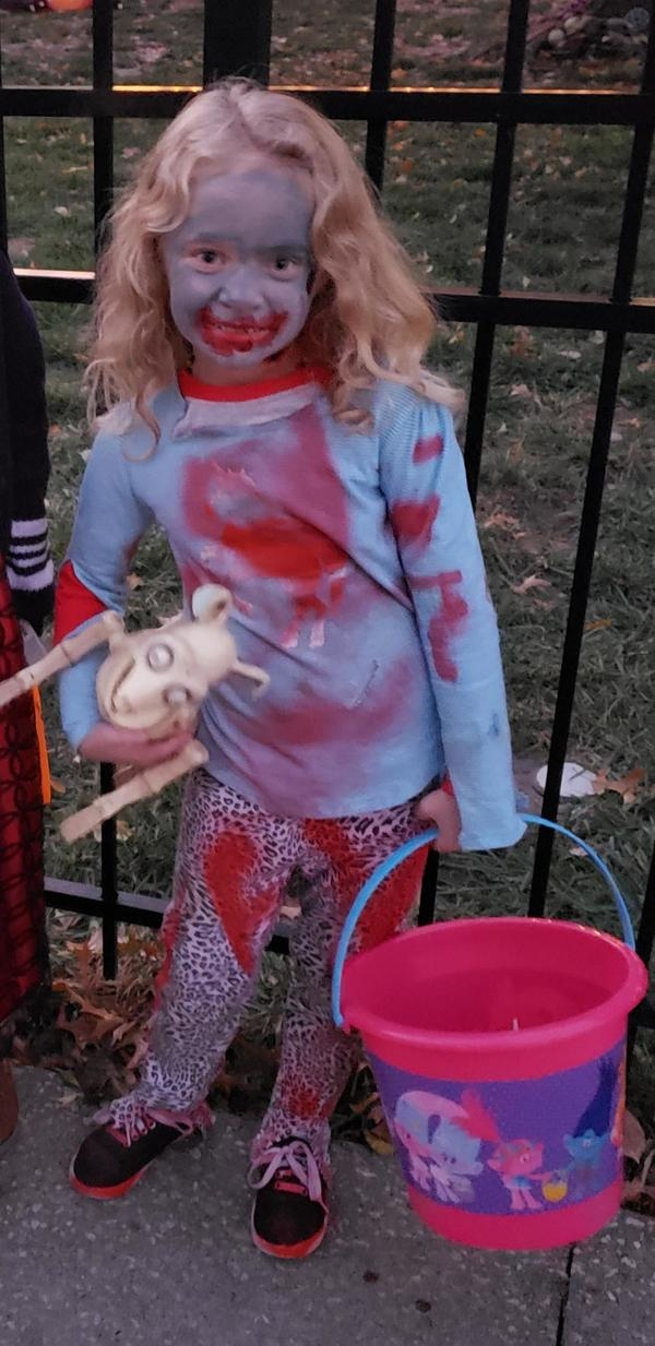 Emma the zombie girl