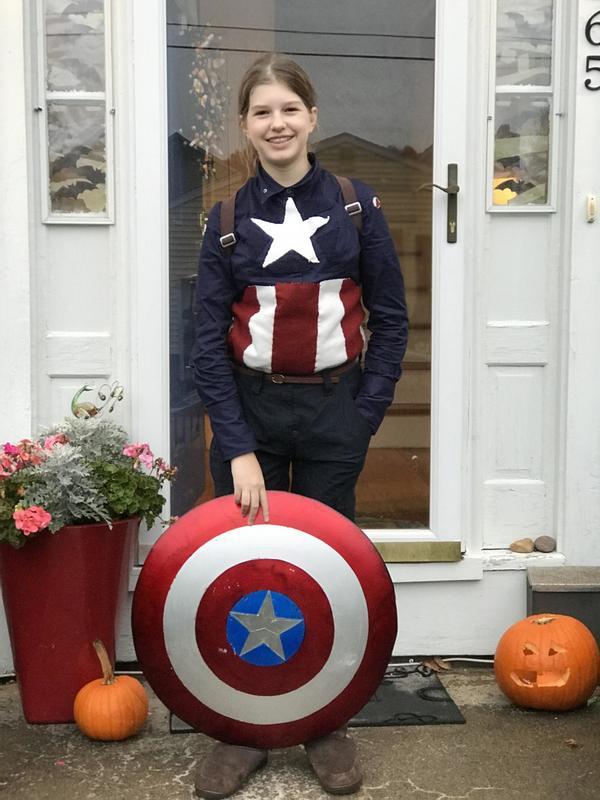 Mighty Captain America!
