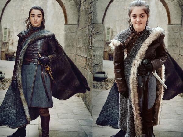 Lily as Arya Stark