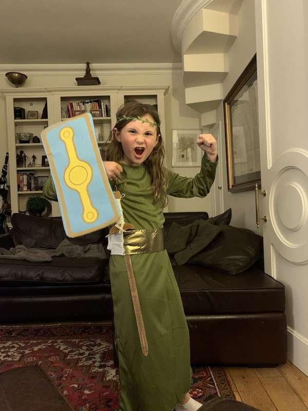 Fierce warrior queen