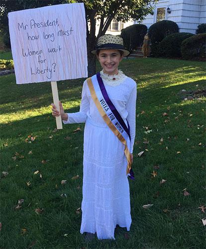 Petite Suffragist