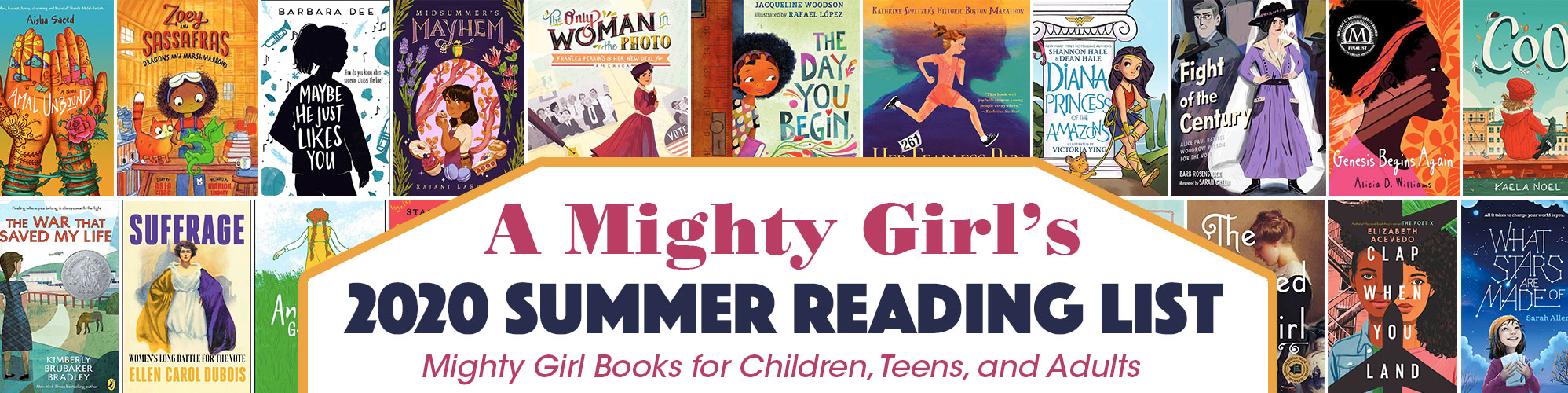 A Mighty Girl's 2020 Summer Reading List